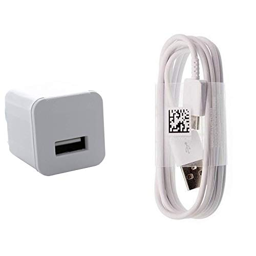 Charging 1.2A Wall Kit Upgrade Works with HTC U12 Life Compact Wall Charger with Detachable High Power USB Type-C Data Sync Cable! (White / 110-240v)