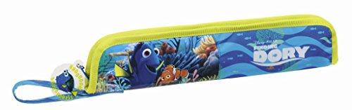 Walt Disney Findet Dorie Nemo Dory, Flötentasche (S284), blau/weiß, 37 x 8 x 2 cm