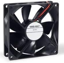 2-Wire 92x25mm 47.6CFM Rib 24VDC NMB TECHNOLOGIES 3610KL-05W-B40-B00 DC Fans DC Axial Fan