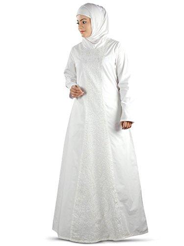 MyBatua Women's Islamic Hajj Clothing, Elegant Embroidered for sale  Delivered anywhere in USA