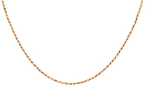 Carissima Gold - Chaîne maille corde - Or rose 9 cts - 56 cm - 5.19.3846