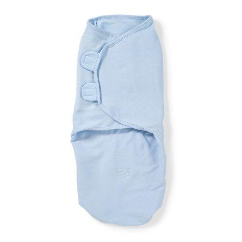 Summer Infant Swaddleme Adjustable Infant Wrap,Large, Blue