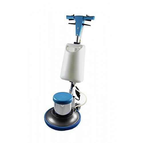 Industrial Floor Polisher Machine 17'' with (1 Tank + 2 Brushes + 1 Pad Holder),1.5 HP BF522 by Farag Janitorial