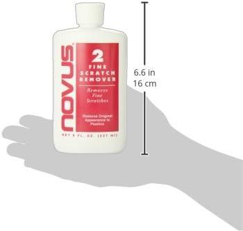 Novus 2 Kunststoff Feinkratzer Entferner 237 Ml Auto