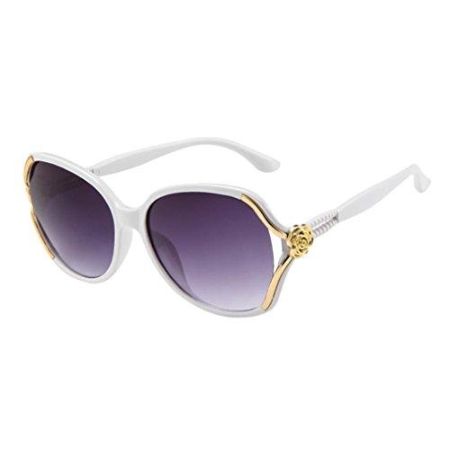 Unisex Frame retro Moda Adeshop colores de Pink 7 Protecci Gafas Big Chic Casual sol vYqCwSCt