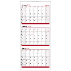 (Office Depot Brand 3-Month Reference Wall Calendar, 27