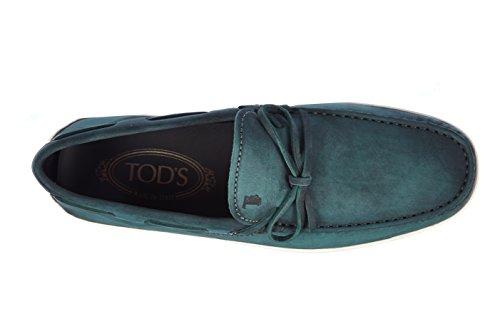Tod's mocasines en piel hombres nuevo marlin hyannisport verde