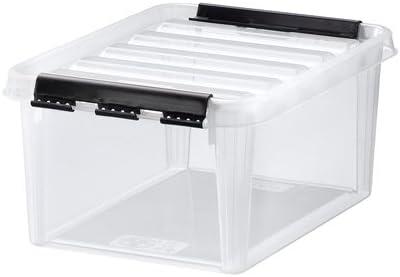8188f50d5b7026 Orthex Clipbox Smart Store Classic 10, transparent 3482070: Amazon ...