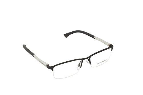 Armani EA1041 Eyeglass Frames 3094-53 - Black - Prescription Glasses Emporio Armani