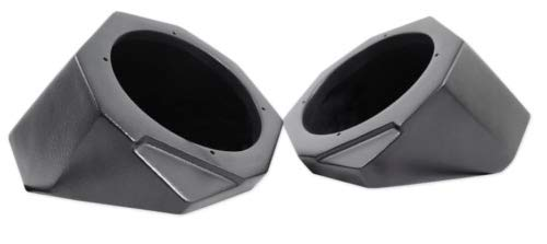 Front Kick Speaker Pods - Unloaded Pair for 2017-2018 Can Am X3 by SSV Works (Image #1)