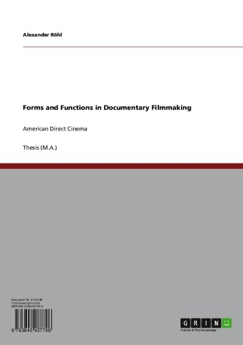 Rohl Pop (Forms and Functions in Documentary Filmmaking: American Direct Cinema)