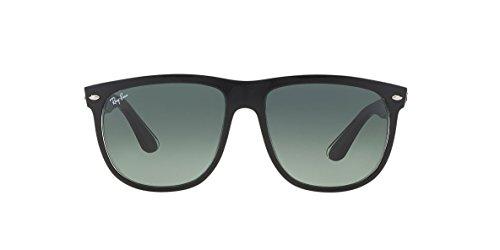 Ray Ban Highstreet Unisex Sunglasses RB4147 603971 Top Black On Transparent 60mm - Highstreet Ray Ban Gold