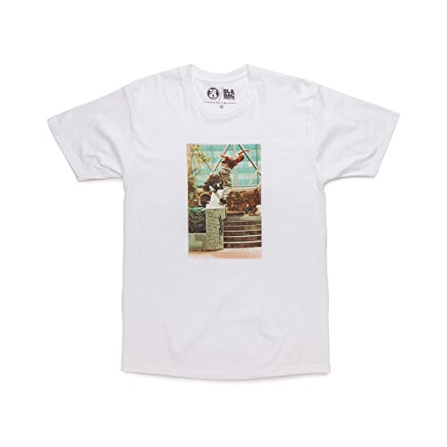 GIRL Skateboard Shirt MIKE BLABAC KOSTON WHITE Size S