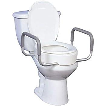 Amazon.com: Nuevo – drive medical elevada asiento de inodoro ...