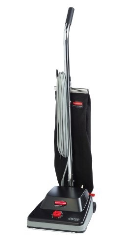 Rubbermaid Commercial 1868436 Executive Series Standard Upright Vacuum Cleaner, 12-inch, Black