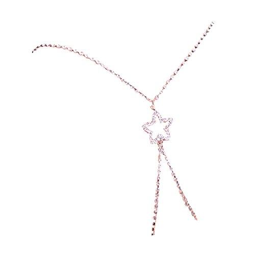 Un reggiseno stella cristalli TININNA Bra per strass con spalline motivo Spalline Straps con di bianco per reggiseno decorate croce Diamante bianco Coppia qBgCtB