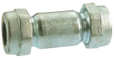 B&K 160-006HP Galvanized Pipe Repair Coupling, 1-1/4-In. Compression - Quantity 3 ()