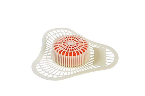 Non Para Block Urinal Screen (ScentBon 7001 Urinal Screen Deodorizer Non Para Block, 2000 Flushes, Cherry Fragrance, Red (Pack of 12))