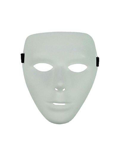 EmazingLights Dance Mask 2.0 (White, 3-Pack)