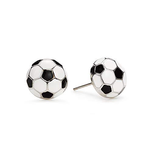 GIMMEDAT Soccer Enamel Post Earrings Player Mom Fan Gift