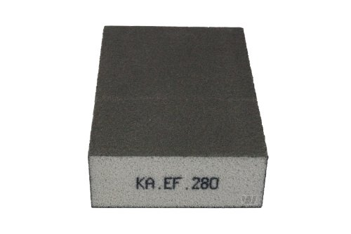 KA.EF. Schleifschwamm Korn 280 P1000 Schleifmatte Schleifpad Vlies Schleif Scheiben