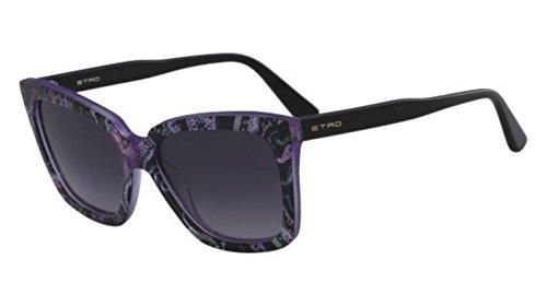 Sunglasses Etro ET 659 S 018 BLACK/PURPLE - Sunglasses Etro
