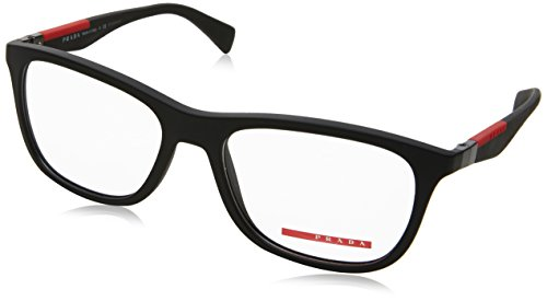 Prada PS04FV Eyeglass Frames DG01O1-55 - Black - Glasses Prescription 2017 Fashion