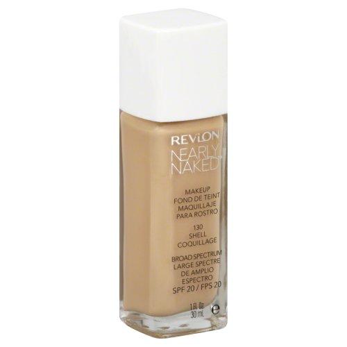 Revlon Nearly Naked Makeup - Shell - 1 oz