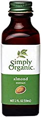 Simply Organic Almond Extract, Certified Organic | 2 oz