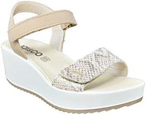 Igi&CO sandalen, leer, platina