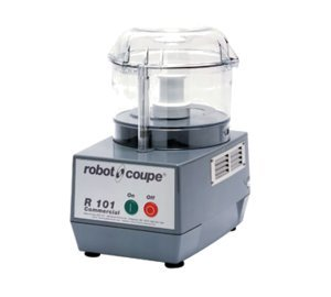 Robot Coupe R101 B CLR Commercial Food Processor with 2.5 Qt Clear Bowl