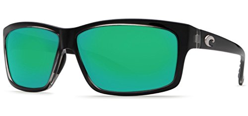 Costa Del Mar Cut Sunglasses Squall / Green Mirror 580Glass by Costa Del Mar