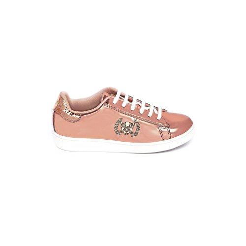 Xyon Revolution Zapatillas Deportivas Sneakers Con Cordones Amber Rosa