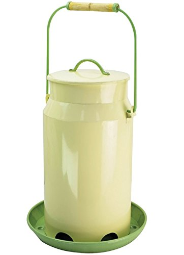 Perky-Pet Milk Pail Hopper - Metal Hopper