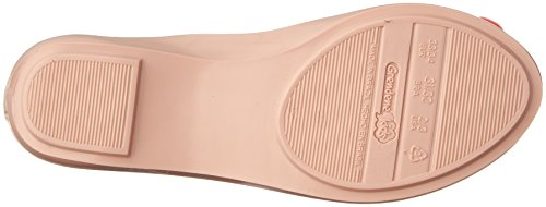 Zaxy Filles Pop Bloom Nude Contrast Ballerina Flats-UK 12 Enfants