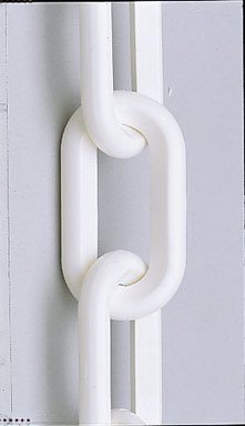 """Easy Gardener Plastic Chain White 2"""""""