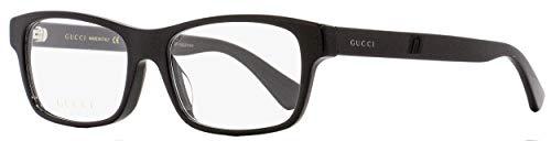 Eyeglasses Gucci GG 0006 OA- 001 001 BLACK / BLACK, 55-17-150