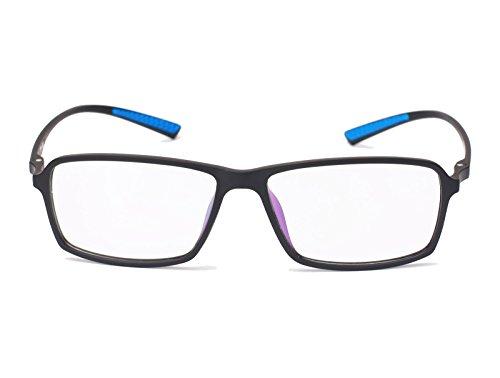 Beison TR90 Sports Glasses Optical Eyeglasses Flexible Frame 55mm (Matte black, - Eyeglasses Sport Prescription