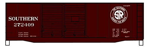 AAR 40' Double-Door Boxcar - Kit -- Southern Railway #272409 (Boxcar Red, SR Logo) ()