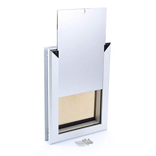 """MAVRICFLEX Dog Door, Large Dog Door Up to 2"""", XL Dog Door Works Silently, Magnetic Closure Heavy Duty Dog Door for Dogs…"""