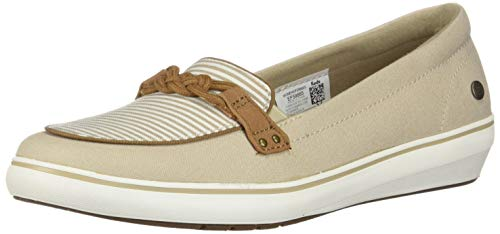 - Grasshoppers Women's Windsor Knot Canvas Sneaker, Stripe, 9 Narrow