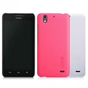 Nillkin Frosted Shield With Screen Protector PC Case For Huawei G630 @ Color==Red
