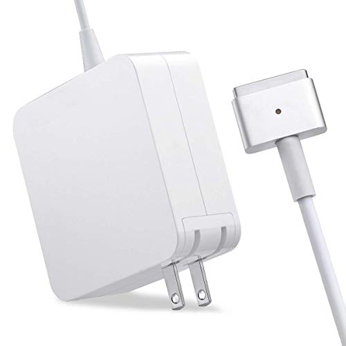 (Mac Book Air Charger, 45W Magsafe 2 Power Adapter T-Tip Replacement Charger Compatible for Mac Book Air 11-Inch and 13-Inch)