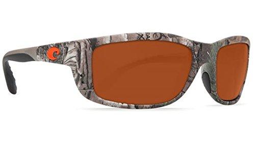 Costa Del Mar Zane Adult Polarized Sunglasses, Realtree Xtra Camo/Copper 580P, Large
