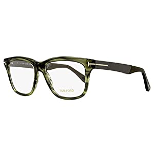 Tom Ford Eyeglasses TF 5372 Eyeglasses 098 Striped Green 54mm
