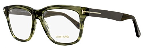 Tom+Ford+Eyeglasses+TF+5372+Eyeglasses+098+Striped+Green+54mm