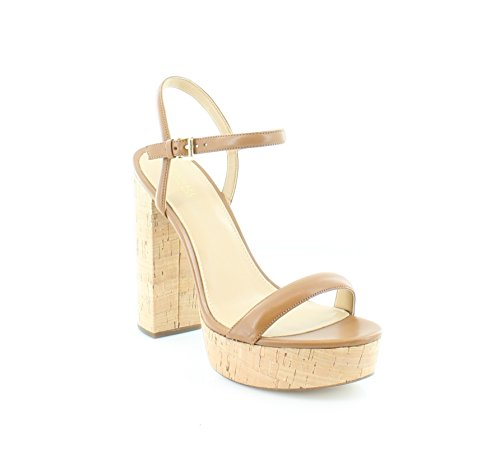 MICHAEL Michael Kors Women's Dallas Platform Sandals, Acorn, Size 10.0