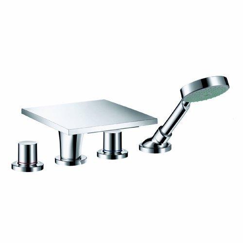 Axor 18440001 Massaud 4-Hole Roman Tub Trim, Chrome ()
