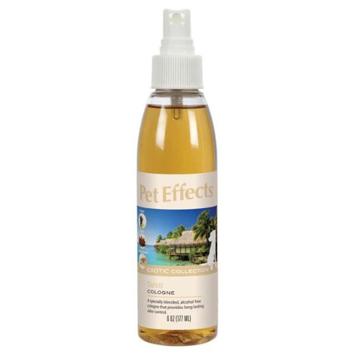 Pet Effects 6-Ounce Exotic Dog and Cat Cologne, Tahiti, My Pet Supplies