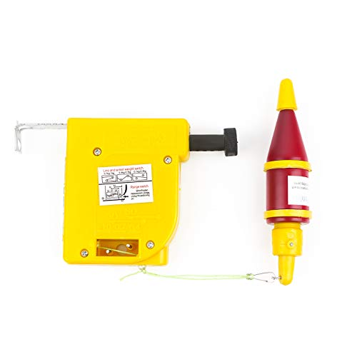 Toolwiz Magnetic Handless Plumb Bob Setter with 5M String and 8 oz Bob ()